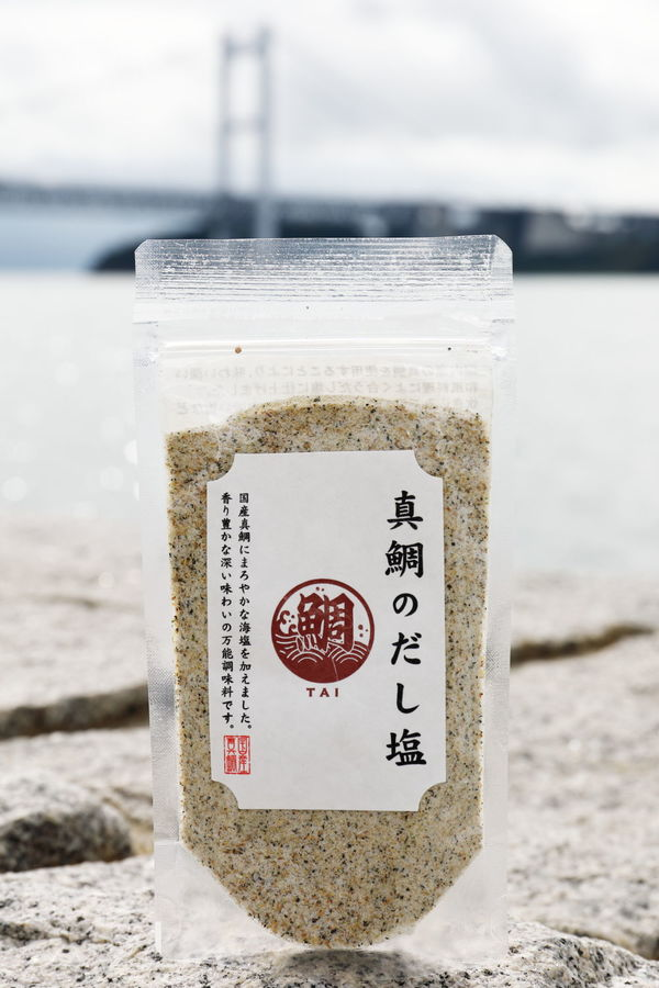 真鯛のだし塩注文殺到で少し待って下さい。
